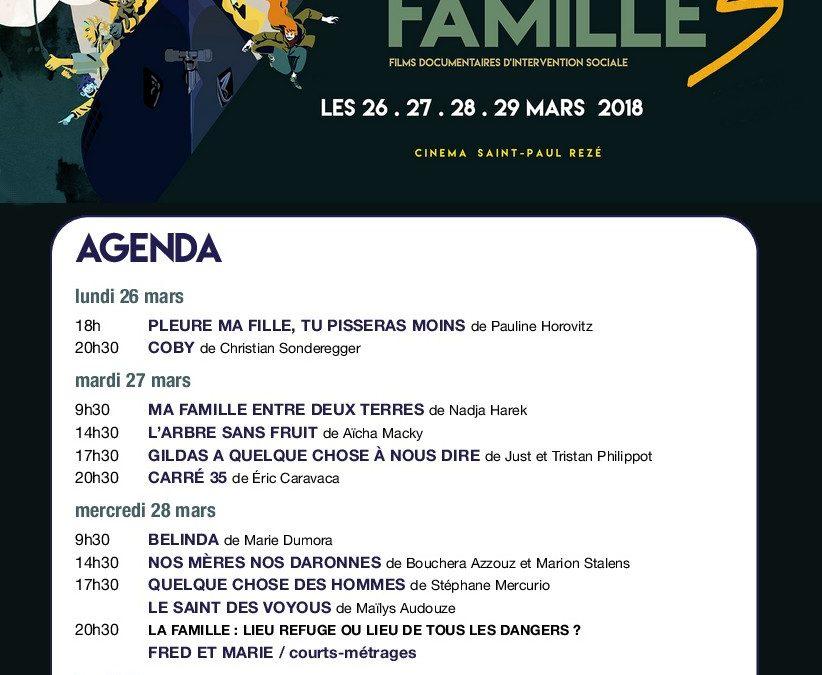 Programme du forum 2018 sur le thème Famille.s
